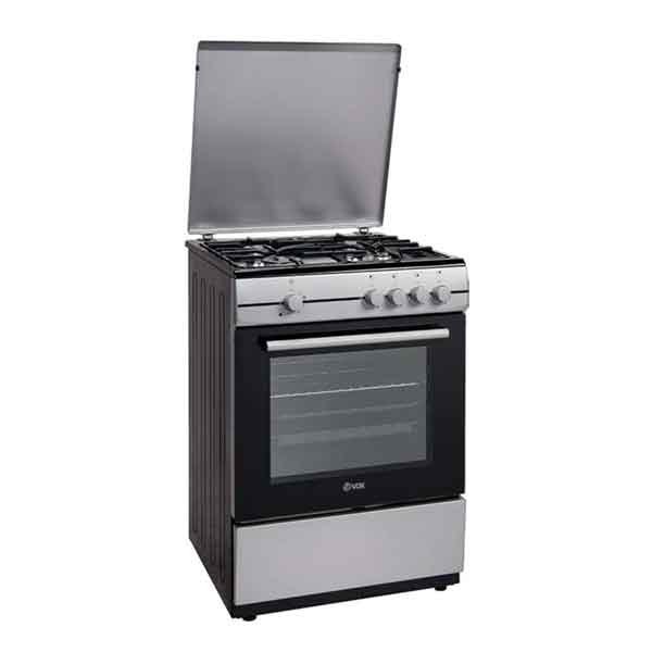 Cookers with gas hobs