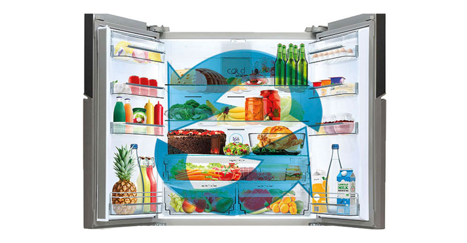 Multi cooling sistem
