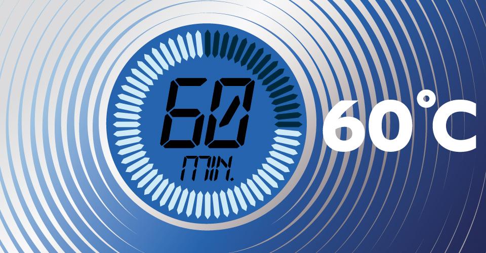 Daily 60°C / 60min